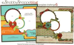 Easy-As-Pie Template Challenge {SIX}