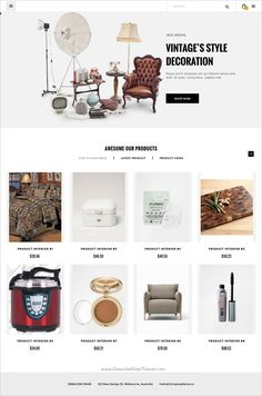 ePro is beautifully design multipurpose #Drupal 8 theme for #interior #decor shop #website with 10+ unique homepage layouts download now➩ https://themeforest.net/item/epro-multipurpose-commerce-drupal-8-theme/18531882?ref=Datasata