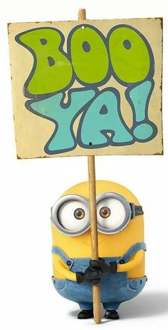 Boo ya! | Minions Movie | In Theaters July 10th