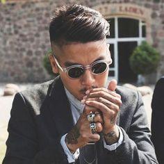 Gentleman's Haircut For Asian Men