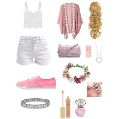 A day riding your bike by benue on Polyvore featuring polyvore fashion style New Look Vans Chanel Topshop Kate Spade AERIN