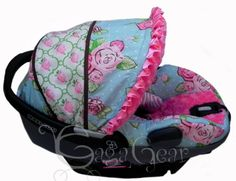 Caden Lanes FINLEYcollection Car Seat Cover Manufactured By Gagababygear Shown On A Maxi Cosi Prezi
