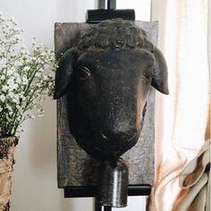 Sheep Head Wall Decor 3