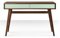 Clarkson midcentury-style desk at Swoon Editions