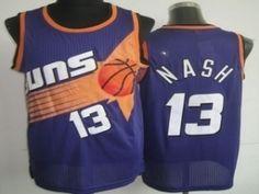 Phoenix Suns Cheap NBA #13 Purole Steve Nash Soul Swingman Jersey [F540]