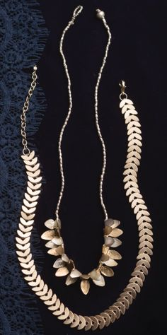 Fair Trade, Jewelry, India, Helena Necklace, 14k Gold Plated, Laurel, Noonday Collection.