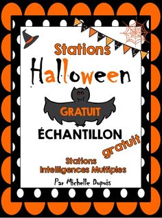 Primary Teaching Ideas and Resources Maths Halloween, Theme Halloween, Halloween Activities, Holiday Activities, Fall Halloween, Halloween Crafts, Core French, French Class, French Lessons