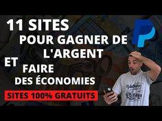 11 SITES Pour GAGNER DE L'ARGENT et FAIRE DES ÉCONOMIES (+ PREUVES DE PAIEMENT) Earning Money