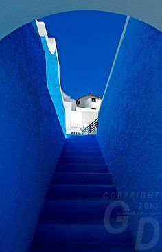 True Blue Color | Travel Photography: True Colors of Santorini, Greece, the travel story ...