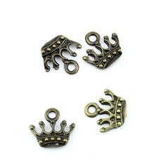 * Penny Deals * - Qty:5PCS Antique Bronze Jewelry Making Charms Findings Supplies Craft Ancient Repair Lots DIY Antique Pendant Vintage Z72133 Imperial Crown * Click image for more details.