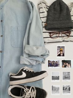 I like this because it's a casual tom boy outfit that is kind of a girly type of thing but not super girly.