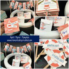 Paper Pumpkin Pop Up April Kit - RemARKable Creations