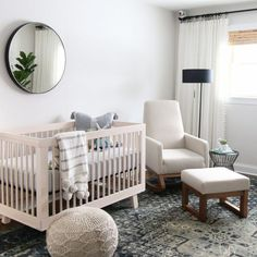 Home Tour The DIY Playbook is part of Baby bedroom - Home Tour The DIY Playbook SafariNursery Mint Baby Bedroom, Baby Boy Rooms, Baby Boy Nurseries, Nursery Room, Kids Bedroom, Nursery Decor, Nursery Ideas, Boho Nursery, Baby Room Boys