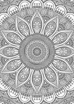 Mandala Coloring pages colouring adult detailed advanced printable Kleuren voor volwassenen coloriage pour adulte anti-stress kleurplaat voor volwassenen