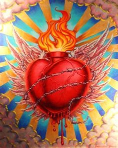 Sacred Heart by Francisco Franco