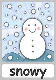 Resultado de imagen para the weather for kids flashcards