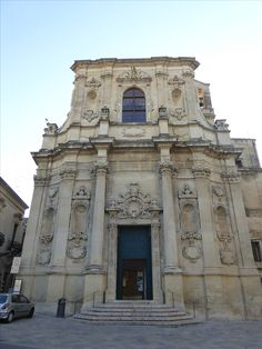 """""""Chiesa di Santa Chiara"""" Lecce Puglia Italia (Luglio)"""