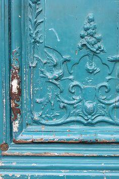 Robin's Egg Blue Door