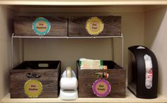 Even pets could use a little organizing! Via Fabulously Organized Home