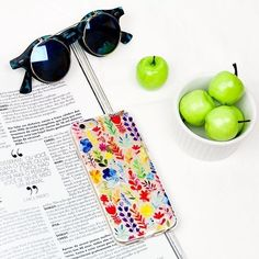 Those apples are so tiny. But look how colourful that case is [You can find more cases on goca.se/insta] #iphone #instamood #instadaily #samsung. Phone case by Gocase www.shop-gocase.com