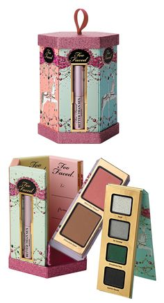 """Too Faced What Pretty Girls Are Made Of for Holiday 2014 - Too Faced """"What Pretty Girls Are Made Of"""" Christmas 2014"""