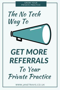 If you're a counsellor or therapist, referrals are a vital way to attract clients to your private practice. Take a look