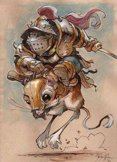 Kangaroo rat warrior
