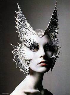 """Masks"" by Richard Burbridge. theatrical fashion photography for grimm and fairy avante garde lovers"