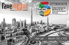 Favemanc presenta sus sistemas de fachada ventilada cerámica en The Big 5, Dubai.