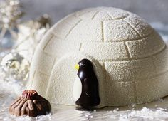 chocolate penguin cake - Google Search
