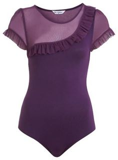 Purple ruffles-Miss Selfridge