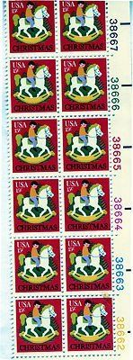 Christamas Hobbyhorse 12 /15 cent US postage stamps #1769 . $5.69. Christamas Hobbyhorse 12 /15 cent US postage stamps #1769
