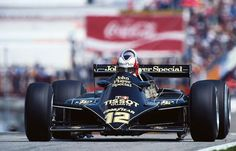 Nigel Mansell, 1981 Lotus-Ford Cosworth