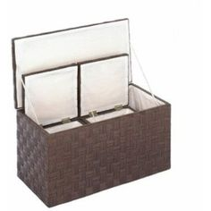 Woven Nesting Storage Trunks- Free Shipping