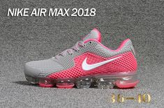 the latest b621f f2bbe New Nike Air Max 2018 5.0 KPU Grey Pink White Women Shoes Nike Para Mujer,