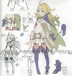 Nowi Cosplay from Fire Emblem Awakening