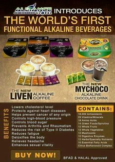The first world alkaline coffee. Health And Beauty, Health And Wellness, Health Fitness, Mastercard Gift Card, Slimming Coffee, Feminine Wash, Complete Nutrition, Alkaline Foods, Cholesterol Levels