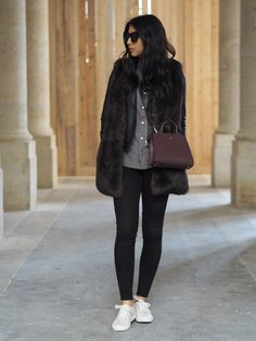Where to Next? | Not Your Standard Street Chic, Street Wear, Street Style, Winter Ootd, Autumn Winter Fashion, Sneakers Style, Sneakers Fashion, German Fashion, Marsala