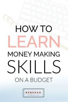 Want to make more money and learn new skills? Check out these three sites that can teach you important money making skills. From business tips to marketing hacks, these courses can teach you everything you need to know about a specific topic or just touch the surface. Click through to see how you can start learning new skills on a budget today! #followback #startup #onlinebusiness