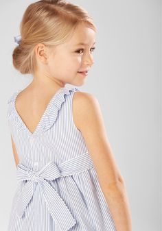 Our Chloe Dress, ideal for spring/summer weddings and other smart occasions. #childrenswear #summer #party #wedding #bridesmaid #garden