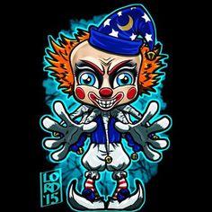 Lordmesa Art — Poltergeist Clown Doll!!!    Never saw the...
