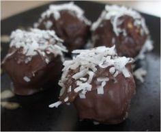 No-Bake Chocolate Coconut Peanut Butter Balls | AllFreeSlowCookerRecipes.com