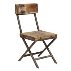 Reclaimed Pine Wood Chair