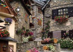:· Actur - Pueblos del Valle de Arán: Bagergue ·: