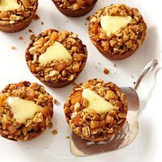 Mini Apple Pies with Cheddar Recipe