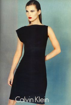 Kate Moss | For Calvin Klein | Fall 1997 - I would wear this now much less 1997
