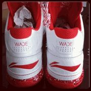 "LI-NING ""WAY OF WADE"" RED/WHI/NO RELEASE DATE INFO YET"