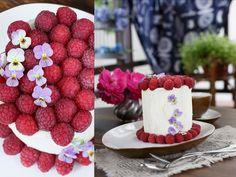 Вертикальный бисквитный торт - Анна Уварова
