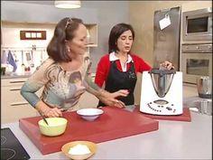 Como hacer merengue suizo, montar nata y espuma de frutos rojos con thermomix