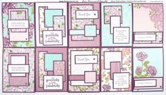 Stampin' Up! #1 Demonstrator Pootles - Lots and Lots of Layered Cards